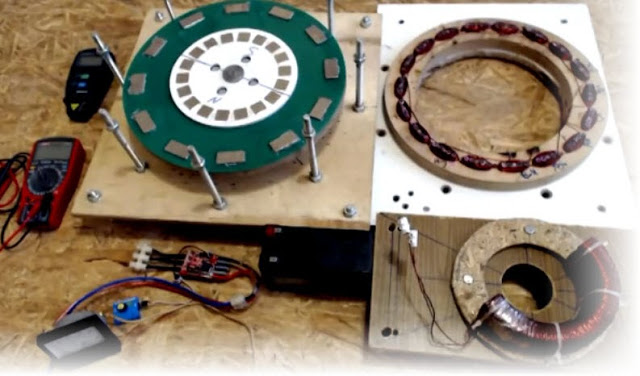 Мотор-генератор своими руками