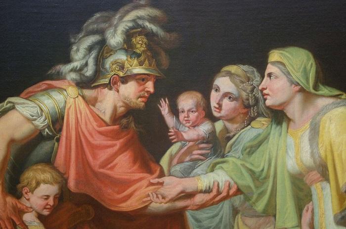 Великий князь Киевский Святослав глазами художника XIX века Ивана Акимова.