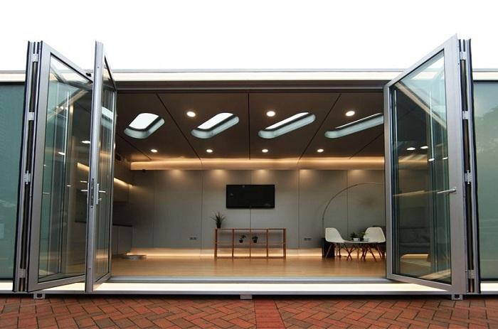 Внутреннее пространство можно создавать на свое усмотрение (Alpod, Китай). | Фото: designboom.com.