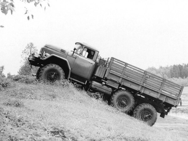 Гордость армии, грузовик ЗИЛ 131