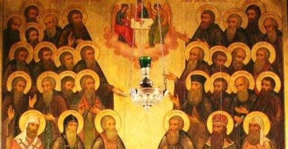 19 июля - Собор Радонежских святых.