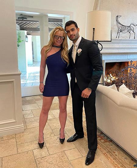 Бритни Спирс объявила о помолвке с бойфрендом Сэмом Асгари Звездные пары