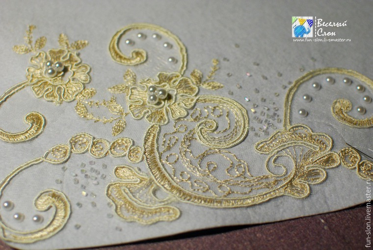 Нежный свадебный клатч из фетра своими руками