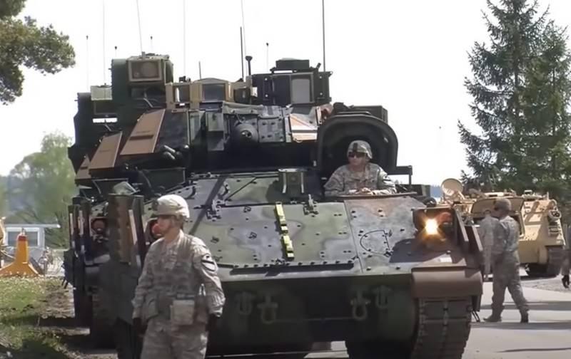Американская БМП Bradley получит гибридную силовую установку вместо дизельной оружие