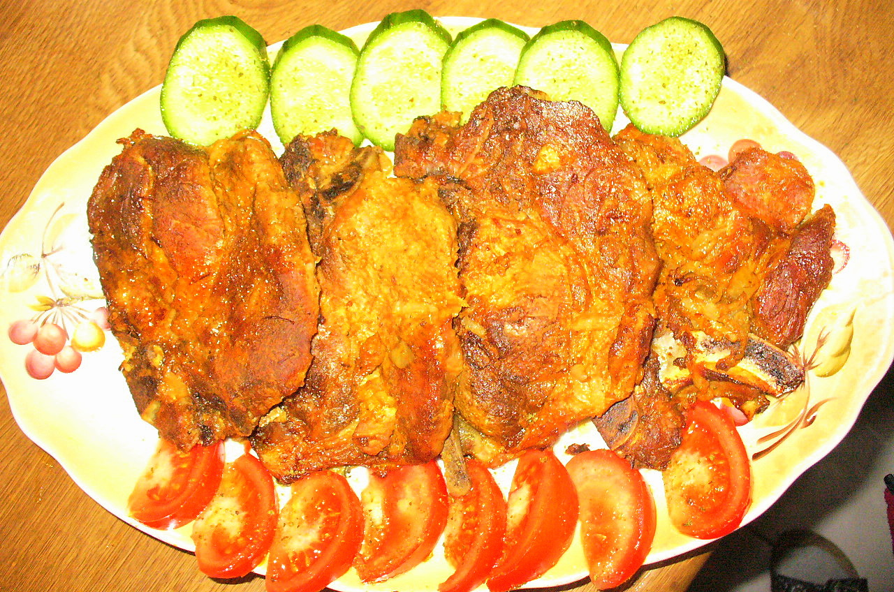 Жаркое ( из свинины ) с луком.Фото-Рецепт .Ольга Dell