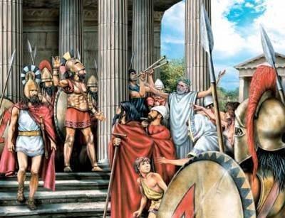 Законы спартанцев.