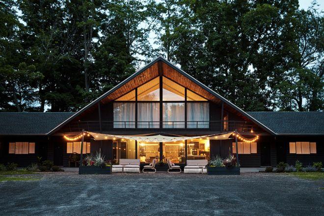 Современный Фасад дома by Polycor