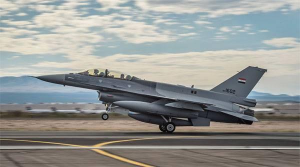 ВВС Ирака нанесли авиаудар по Сирии
