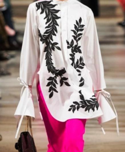 Oscar de la Renta осень-зима 2018-2019 — элегантность, стиль и масса шика, которым славится этот бренд