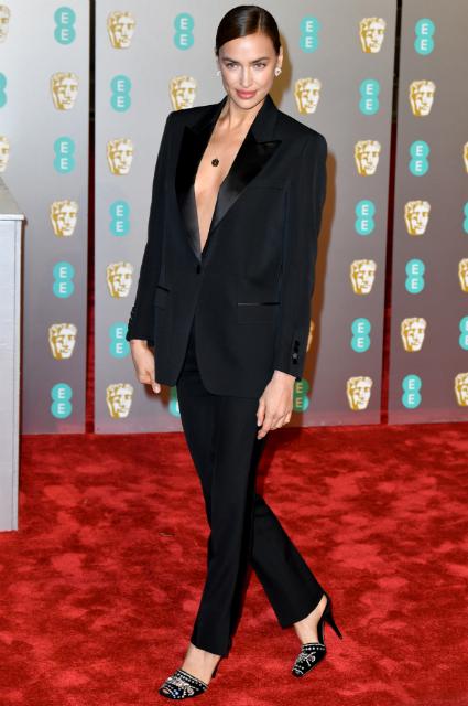 Ирина Шейк и Брэдли Купер присоединились к гостям премии BAFTA-2019 звездные пары