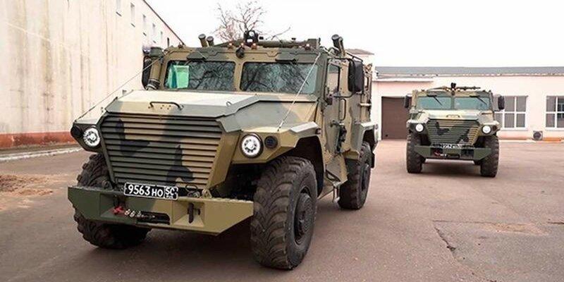 Новый броневик для армии и полиции России