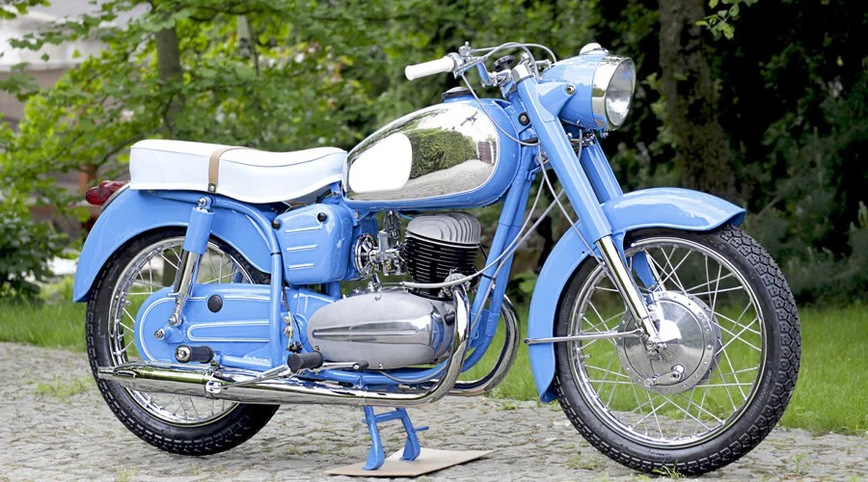 Самые популярные мотоциклы из социалистических стран авто и мото,автоновости