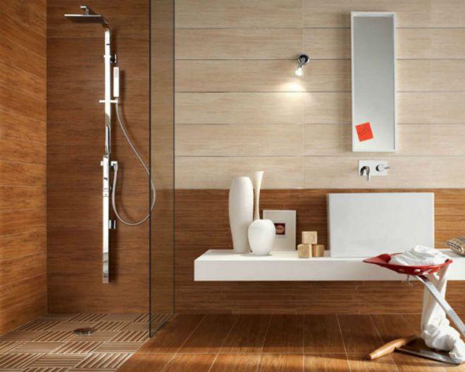 отделка ванной комнаты ламинатом
