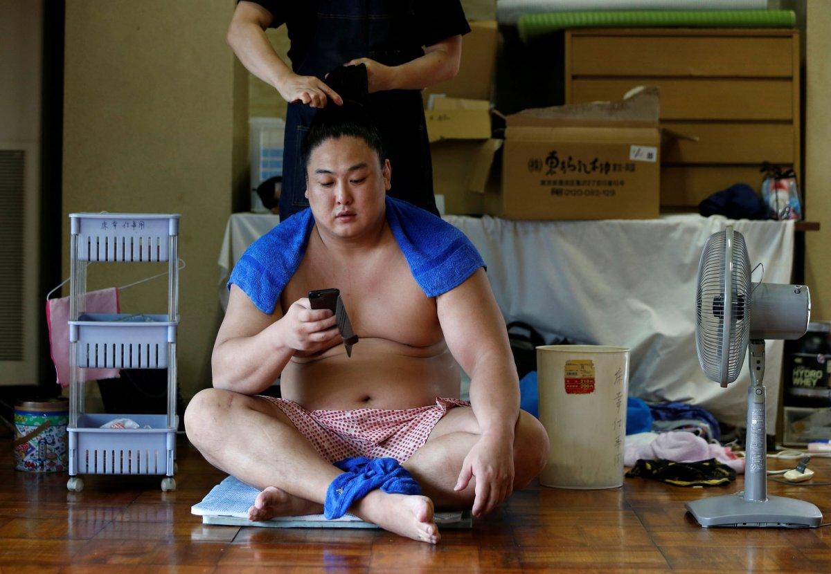 Будни сумоистов