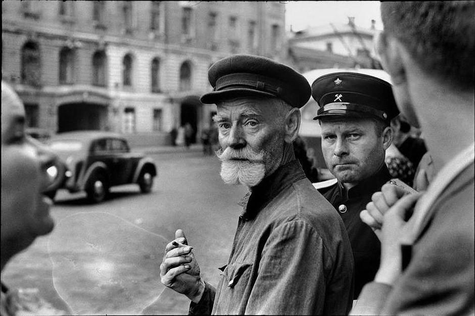 История Москвы в фотографиях 1952-1954 годов