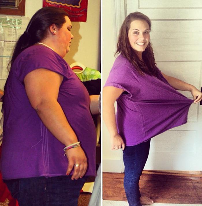 Невероятные истории о похудении с фото