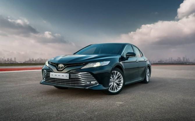 Новая Toyota Camry поступила в продажу в России