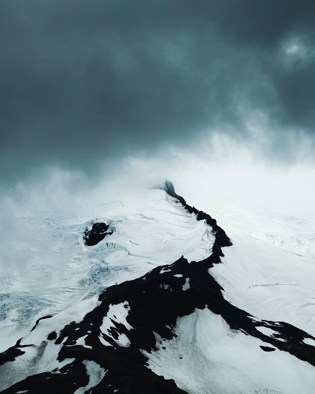 Высокая красота: аэрофотоснимки Бенджамина Хардмана природа,с высоты птичьего полета,север