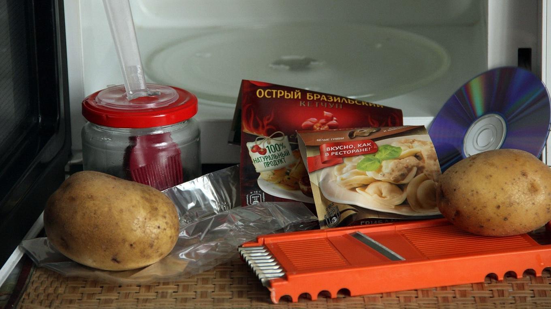 Как приготовить домашние чипсы в микроволновке закуски