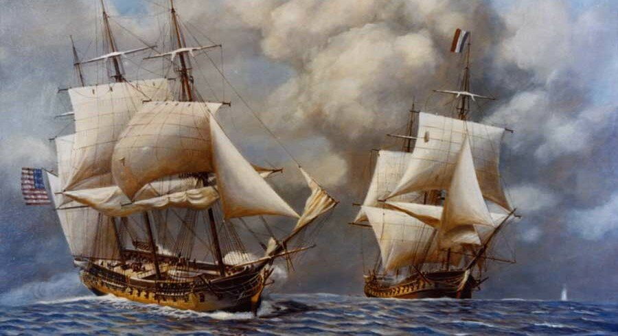 Воевали ли американцы и французы между собой? история