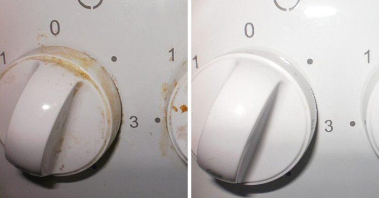 Копеечное аптечное средство, которое легко удалит жир с ручек кухонной плиты