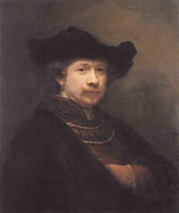 Автопортрет, 1642 год. \ Фото: yoi-art.at.webry.info.
