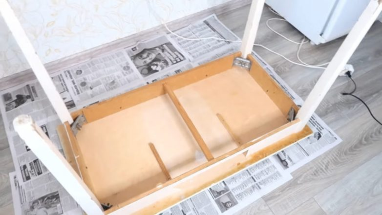 Переделка старого советского стола