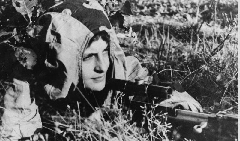 История лучшего снайпера времен Второй мировой