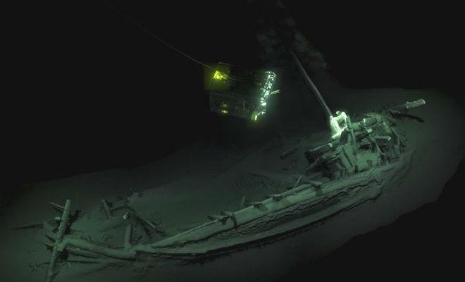 Корабль, которому больше 2000 лет: находка в Черном море