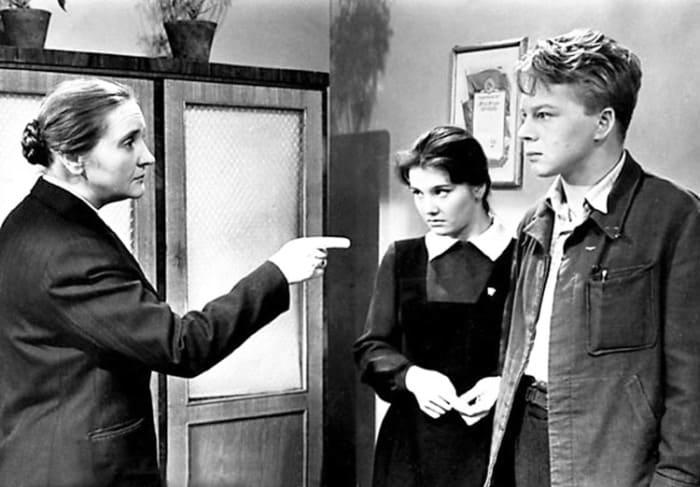 Кадр из фильма *А если это любовь?*, 1961 | Фото: kino-teatr.ru
