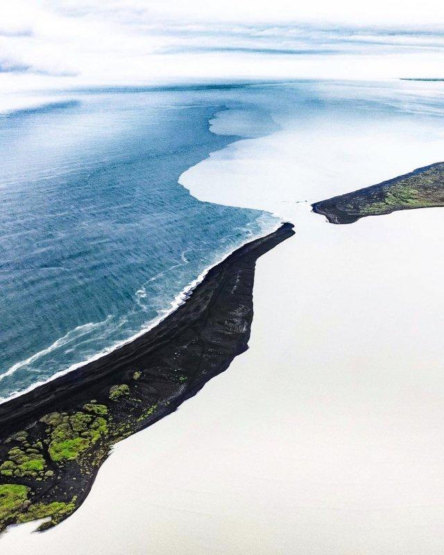 Удивительные аэрофотоснимки Исландии