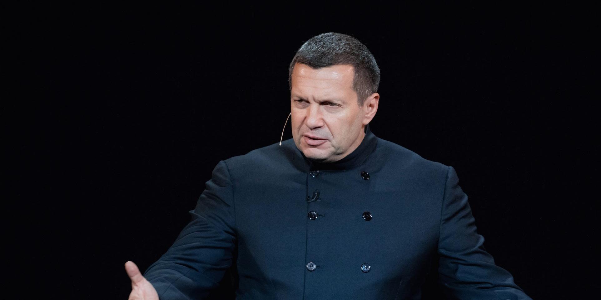 Соловьев раскритиковал украинского мэра за осквернение памяти героя СССР