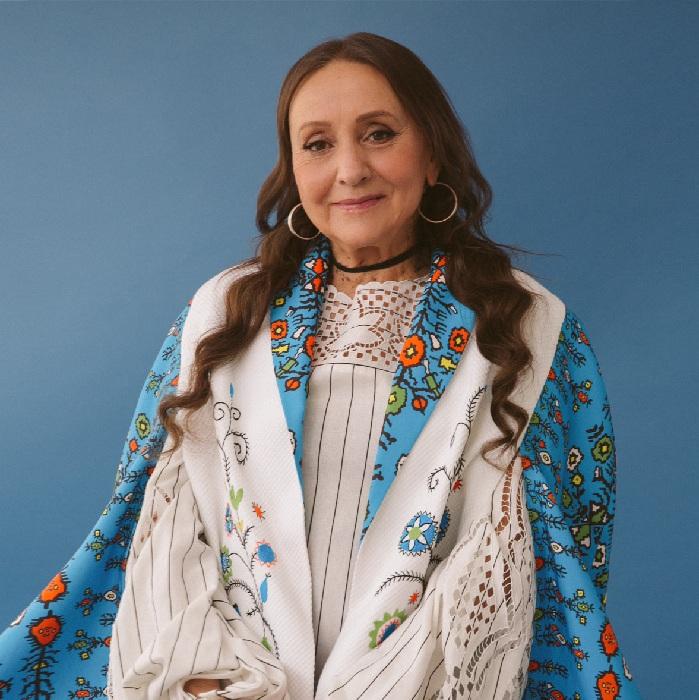 Лариса Кадочникова на обложке глянцевого журнала. Ноябрь 2019.