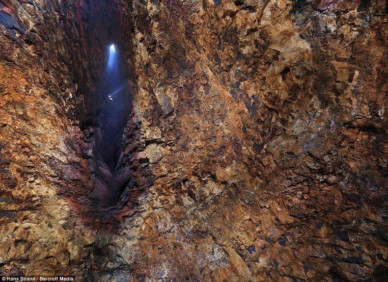Вулкан, в который можно спуститься