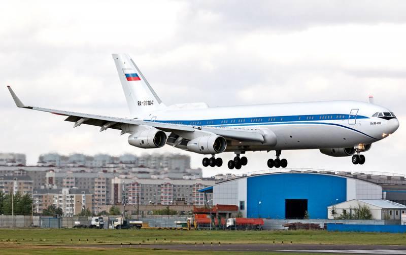 Ил-96-400М станет новым «самолетом Судного дня» Техно