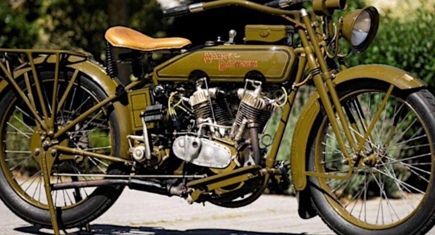 Столетний Harley-Davidson удалось починить благодаря 3D-печати Автомобили