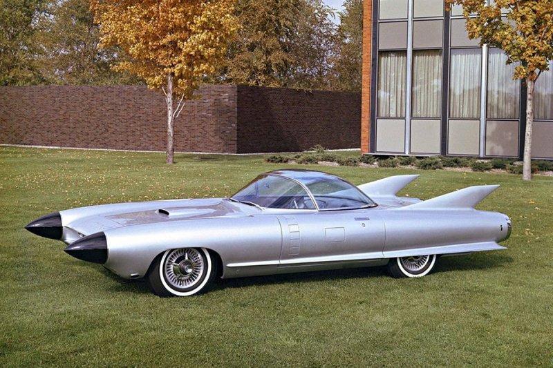 Cadillac Cyclone авто, автодизайн, автомобили, аэродинамика, дизайн, обтекаемость, самолет
