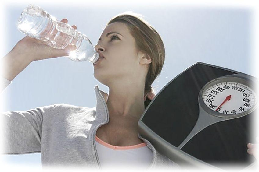 Похудеть ограничив воду