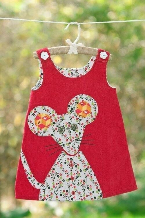 Шьём сарафанчик для девочки одежда,разное