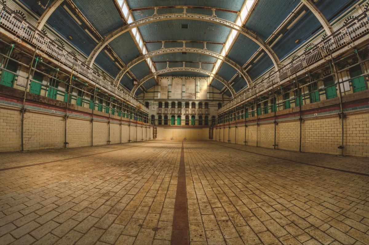 Атмосферные снимки британских заброшек Англия,Великобритания,заброшки,тревел-фото