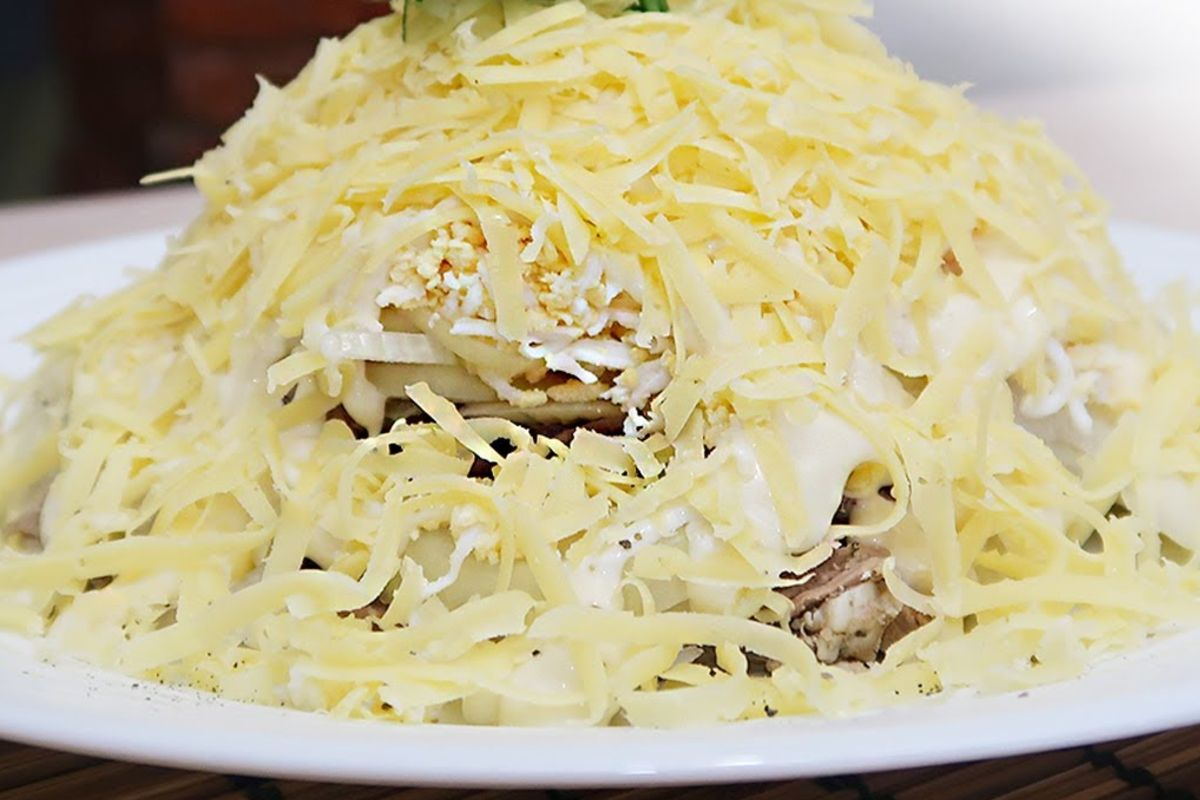Салаты для мужчин: 5 рецептов сытных закусок рецепты,салаты