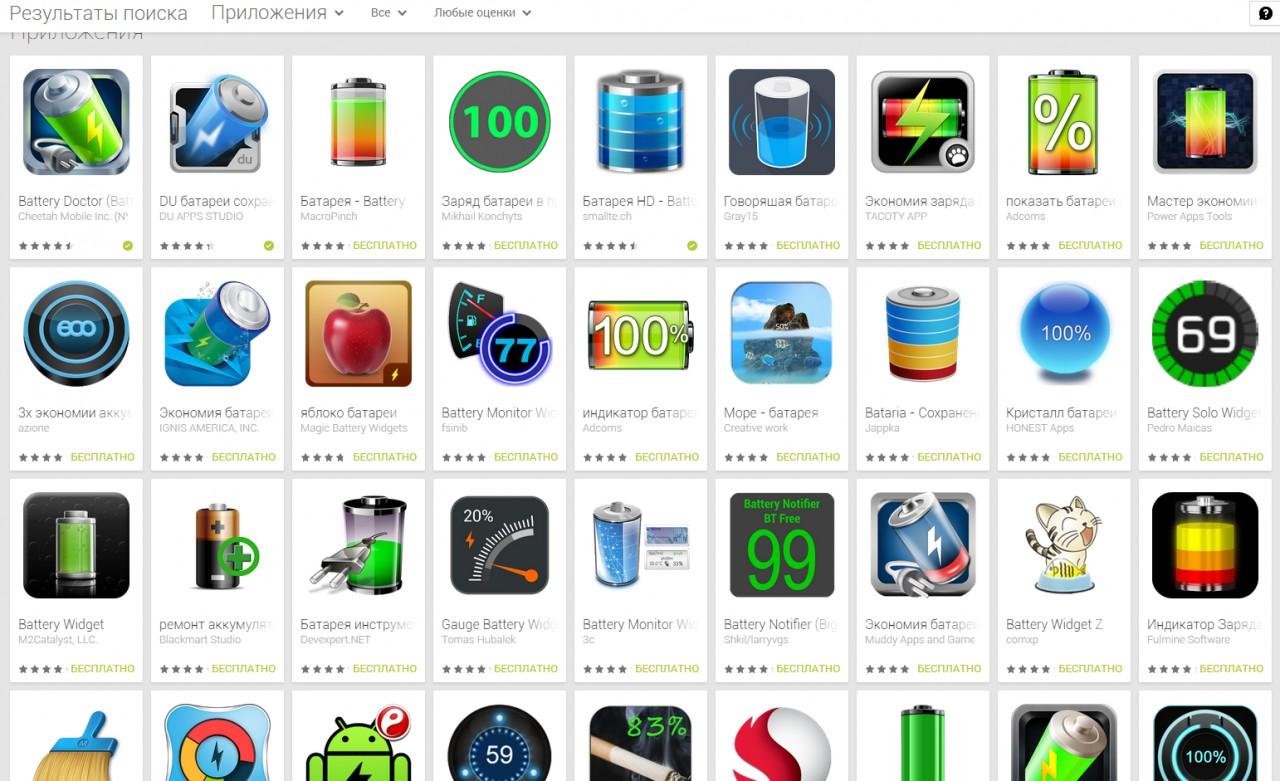 О бесполезности программ экономии батареи для Android android, аккумулятор, смартфон