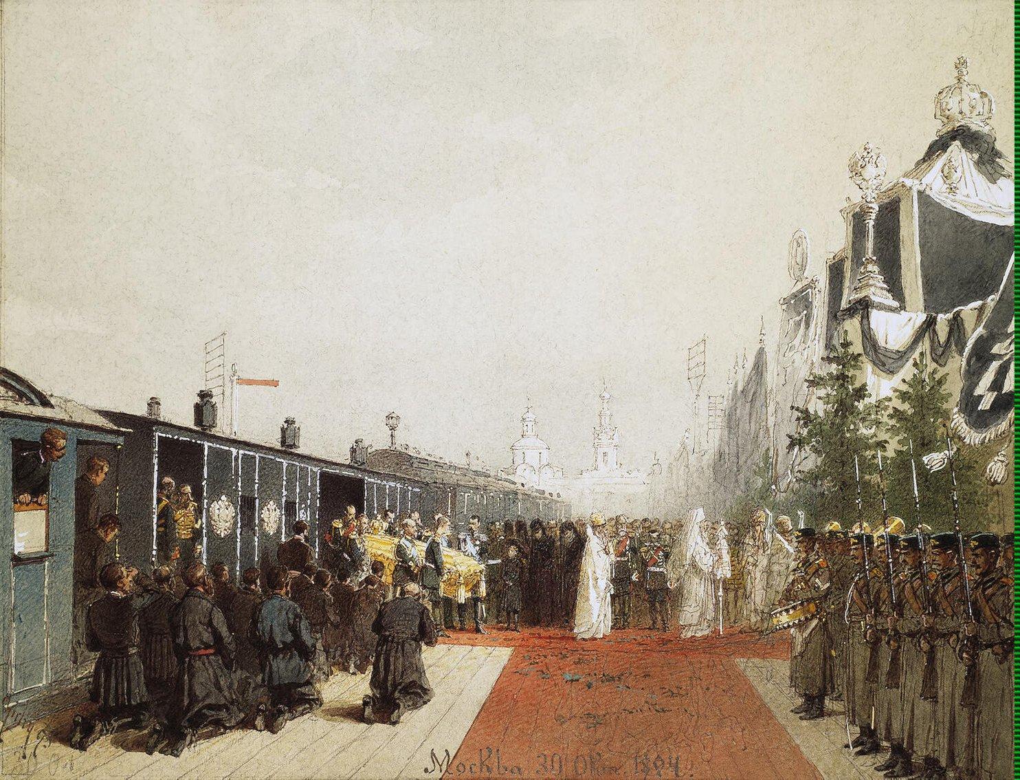 Михай Зичи из Эрмитажа Александра III