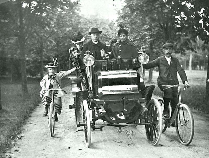 1896 год в Париже в 12-м округе в Буа-де-Венсен. Весь Мир в объективе, ретро, старые фото