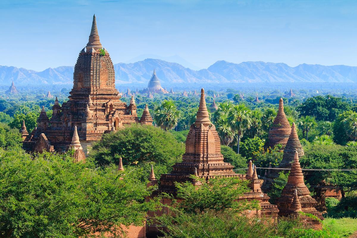Мародёры стали разорять храмы в городе Баган в Мьянме
