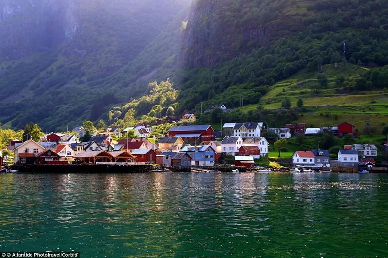 8. Андредал, Норвегия. деревни, мир, невидимки, природа, фото