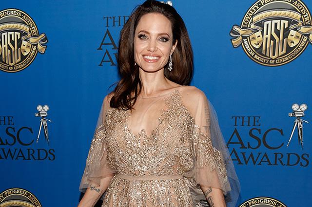 Стало известно, как Анджелина Джоли отметила свой день рождения
