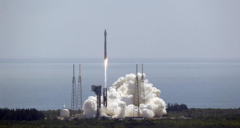 В США стартовала ракета Atlas V