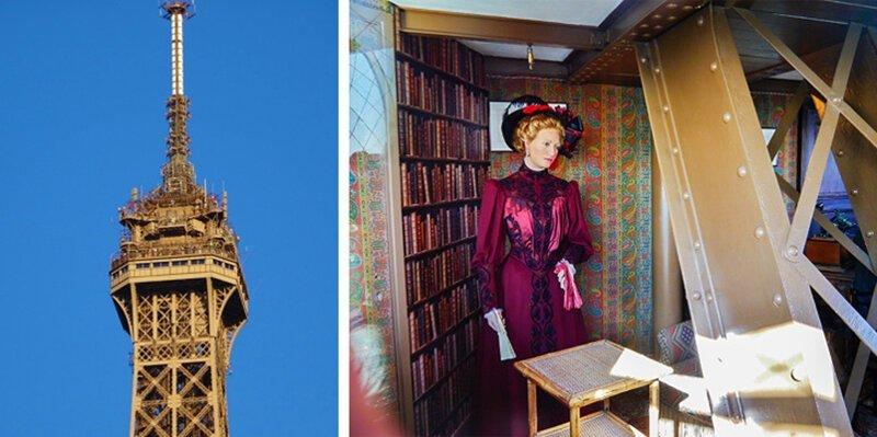 Квартира в Эйфелевой башне достопримечательности, тайны, это интересно