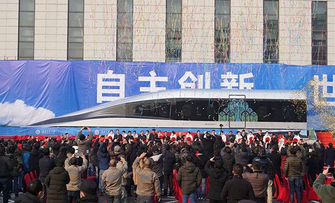 В Китае показали поезд, который двигается со скоростью самолета: видео поезд, скорость, развить, испытания, крейсерскую, Китайские, планируют, создателейhttpwwwyoutubecomwatchv8Tpxh5COfpYКонструкторы, задумке, поезда, максимальная, техника, прошла, систему, Первые, тестового, отрезок, 165метровый, построили, Чэнду